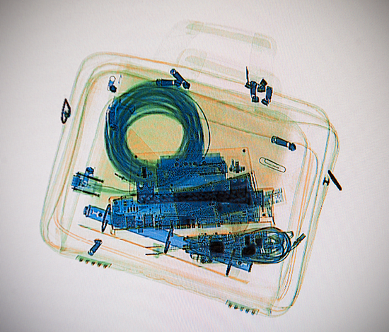 TSA X-ray baggage scan: what's in your IT bag?