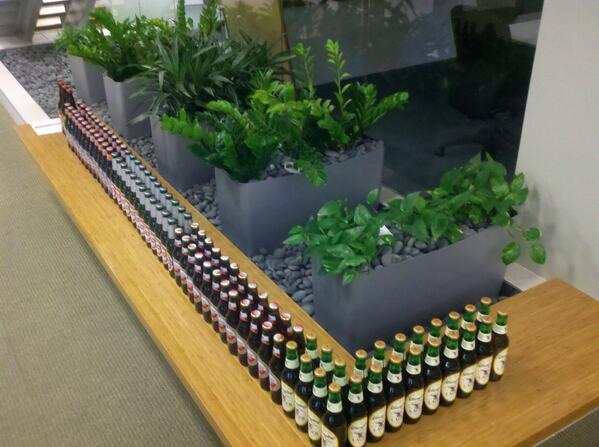 Count down a project with 99 bottles of beer on the wall to celebrate daily milestones. Cheers!