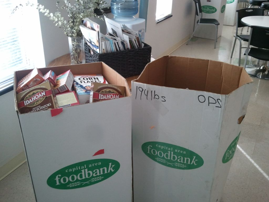 Digital food drives like DelCor's do away with the need to lug 194-pound boxes!