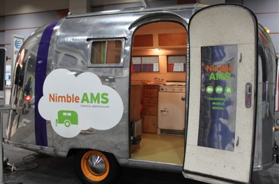 NimbleUser's airstream is on the move...to Community Brands.