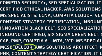 brochure credentials spotlight image