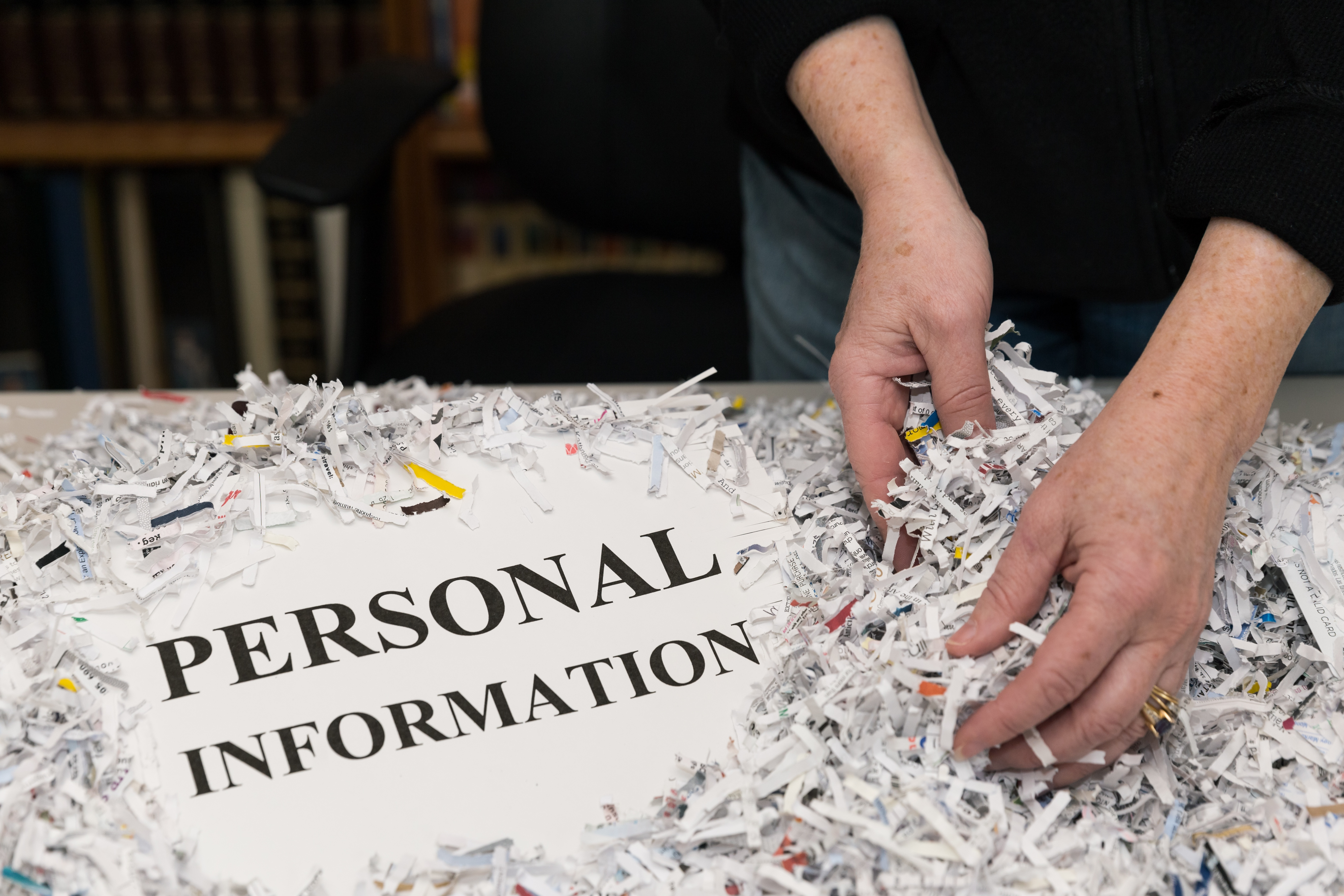 Protect personal information to ensure data security.