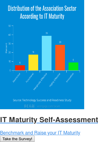 IT Maturity Self-Assessment   Benchmark and Raise your IT Maturity Take the Survey!
